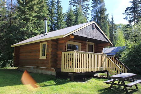 Log cabin on the lake sleeps 4