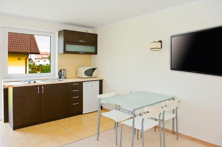 Apartament dwupoziomowy 38m2, AP7