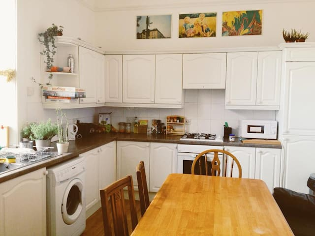 Lovely double room Great Location!  - Glasgow - Departamento