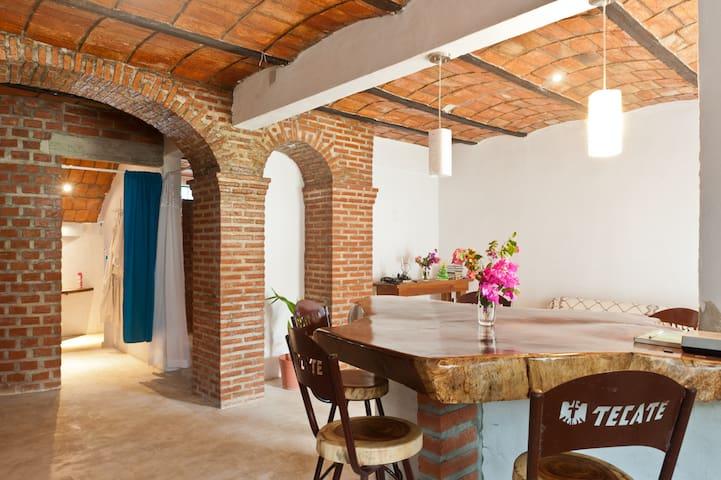 Casa Azul/ 1 Bed room appart - Bucerias - Apartamento