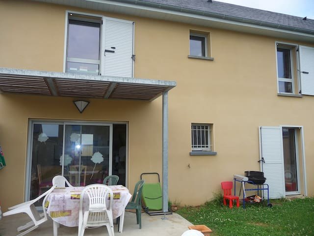 Tarbes(5mn) chambres pavillon jard - Ibos - House