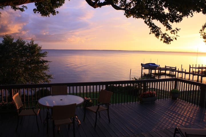 Luxury Waterfront Treasure - Edenton - Casa