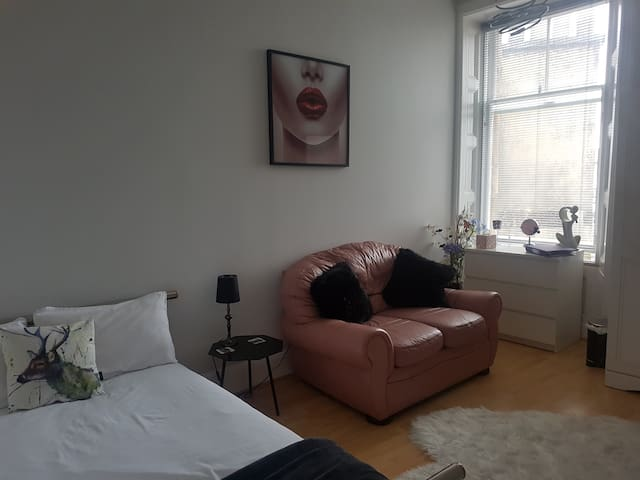 Light airy spacious double room in Bruntsfield!