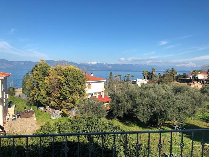 Beautiful  seaside villa with an amazing sea view.