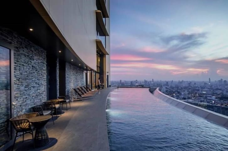 Luxury room best SkyPool/Emporium/Phrom Phong No.4