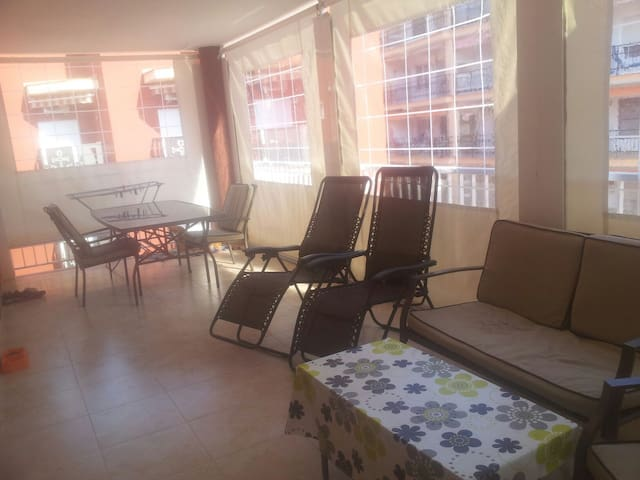 Apartamento a pie de playa familiar - Oropesa del Mar - Leilighet