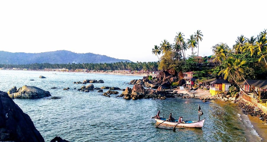 Authentic Colomb beach village -GOA