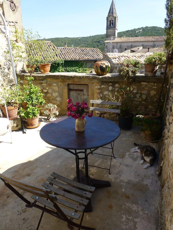Chambres d'Elise avec terrasse