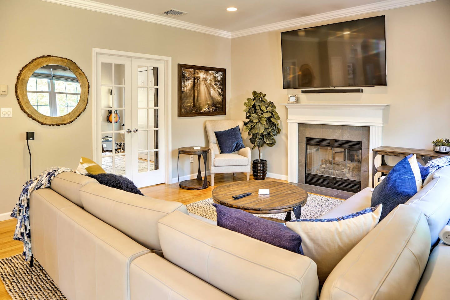 Spread out in 2,400 square feet of bright and elegant living space.