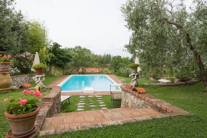 Cosy Farmhouse Apartment in Chianti - Stellino - Apartamento
