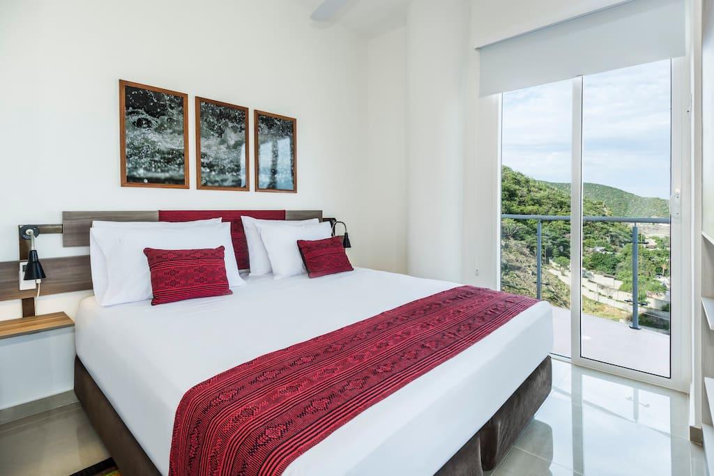 Habitación Doble con vista al mar - Double Room with Sea View