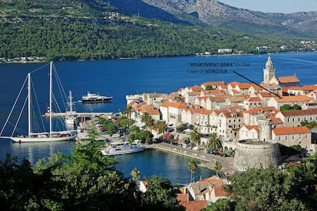 Korcula Old Town cosy studio apartment