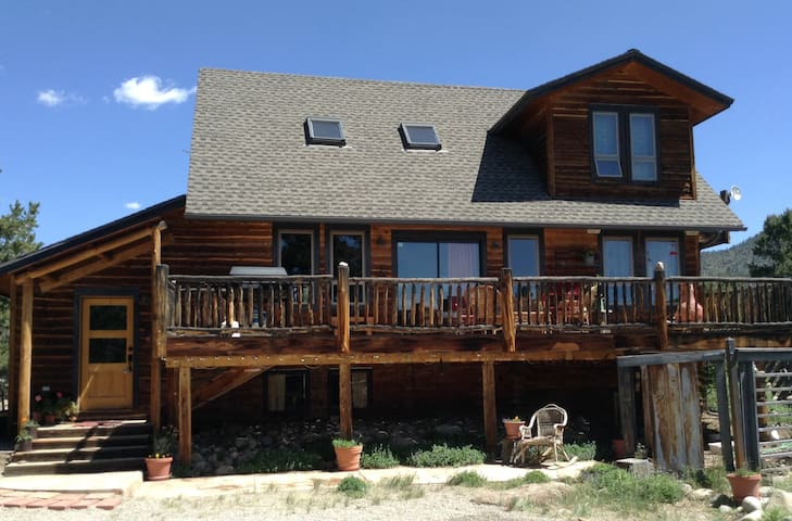 Gorgeous blue sky cabin cabins for rent in buena vista for Buena vista co cabins rentals