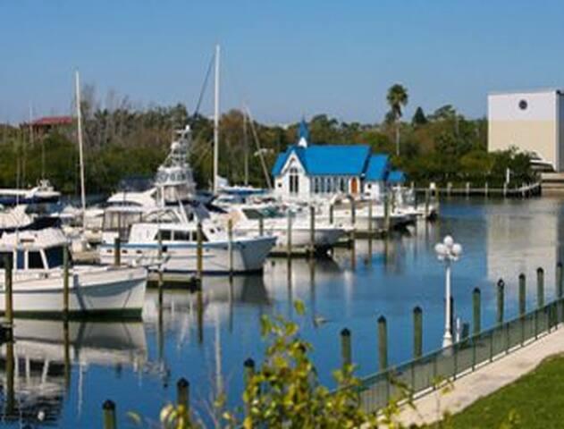 Furnished Waterview Condo - Sarasota - Butik otel