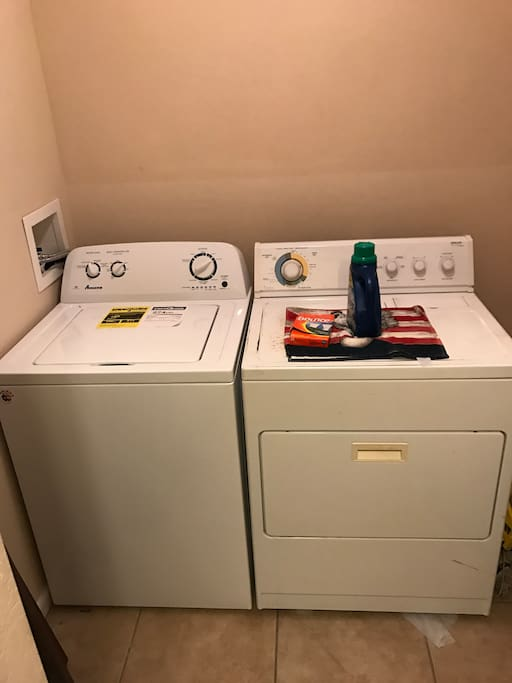 full washer and dryer