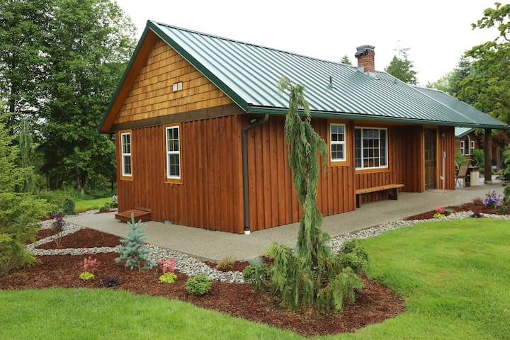 cabin landscaping