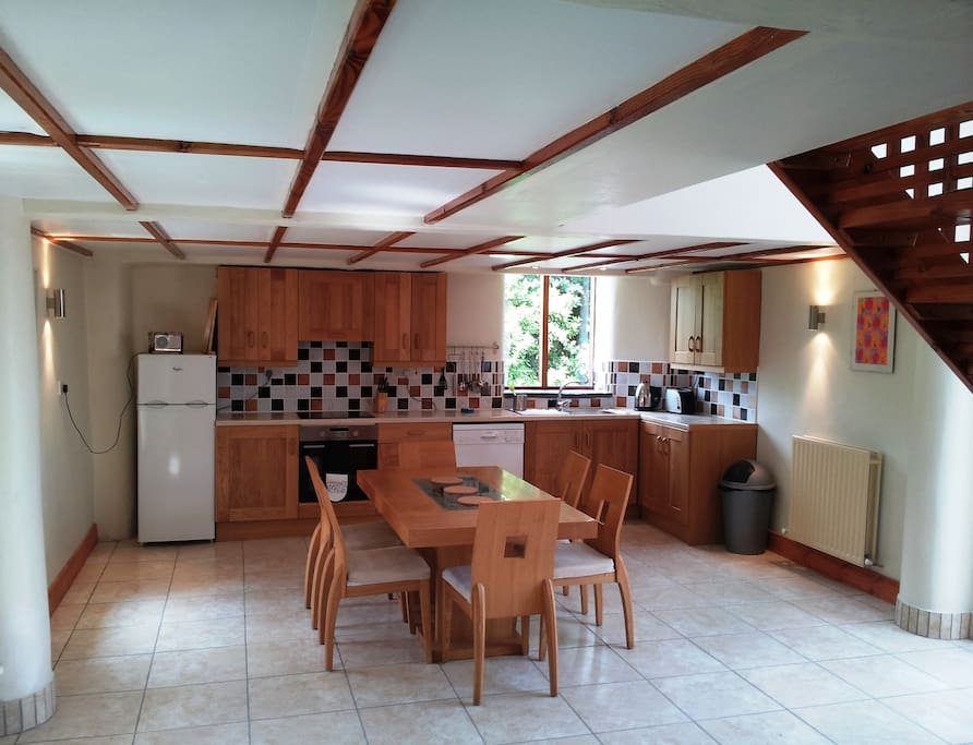 Modern Comfortable Kitchen Diner in Ballymorris Cottage