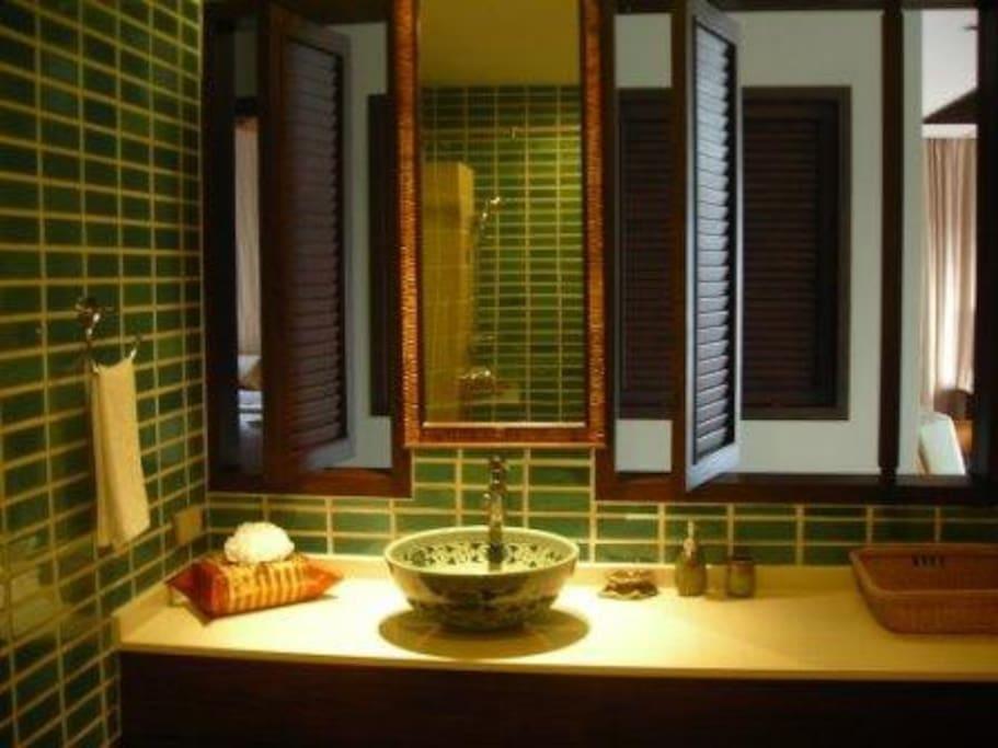 en suite bathroom Salle de bain - wc attenants