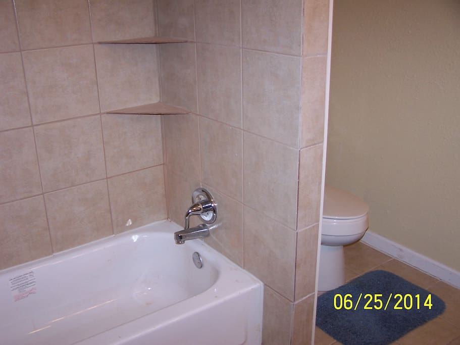 Full Bathroom with Tub and Shower