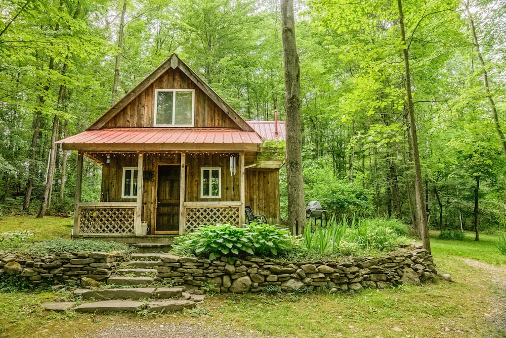 Springs retreat cabin rental cottages for rent in for Cabin rentals vicino a watkins glen ny