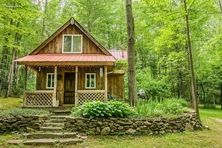 Springs Retreat Cabin Rental - Montour Falls