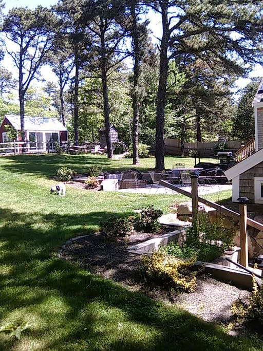 Firepit and Patio common area