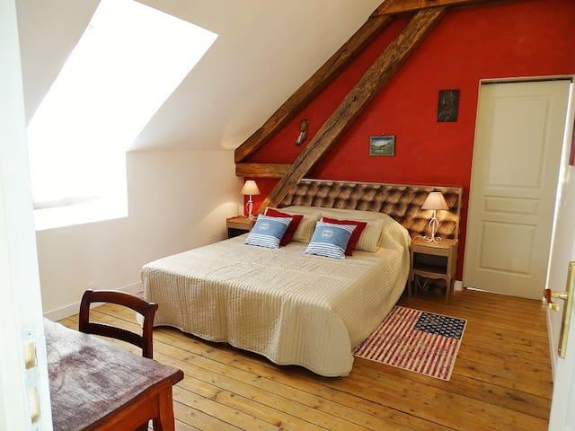 Domaine de La Louvetière - Chambres AMERIQUES - Courtalain - Guesthouse