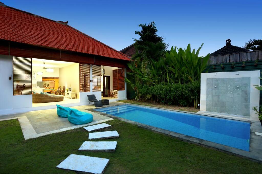 Garden View of Villa