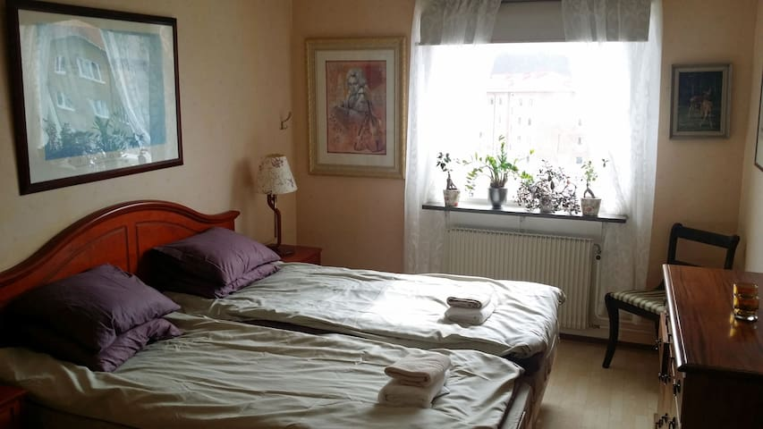 Cosy Central room for 2 persons incl.breakfast