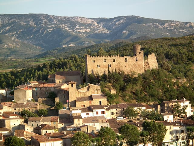 Mediaeval Gem - next to Chateau - Durban-Corbieres - Apartmen