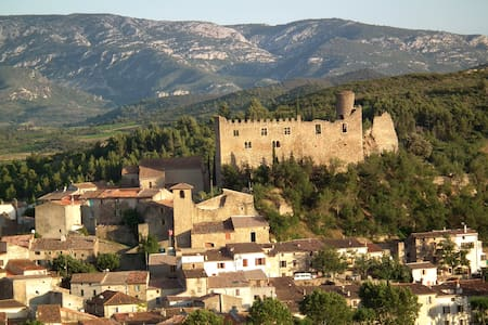 Mediaeval Gem - next to Chateau - Durban-Corbieres - Apartament