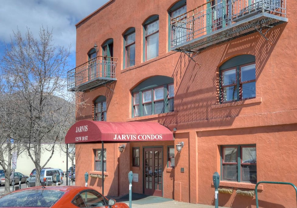 Historic Jarvis Conodminiums Durango Colorado vacation rental condo downtown Main Avenue