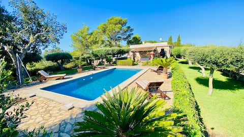 Eco-Finca in Sant Joan with Pool