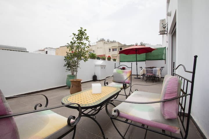Apartment with 50m² of terrace - Casablanca - Flat