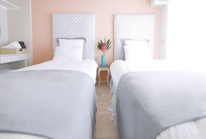 (NEW!!) Cheap&Clean room! 2 beds!!!! - 京都市 - Flat