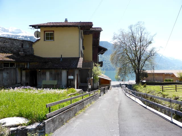 Brienz West Site, just 17 min away from Interlaken - Brienz - Flat