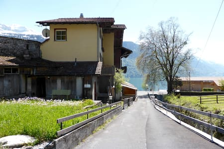 Brienz West Site, just 17 min away from Interlaken - Huoneisto