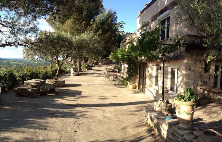 Jolie Maison de campagne au calme - Montmirat  - บ้าน
