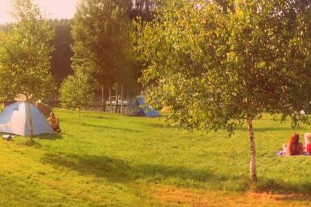 Przyczepa z widokiem na ZamekCzocha - Stankowice - 캠핑카