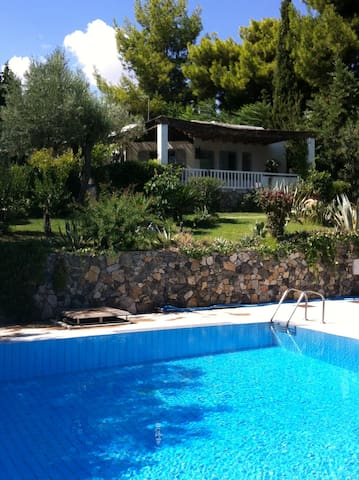 Seaside bungalows close to Athens & Delfi - Paralia - バンガロー