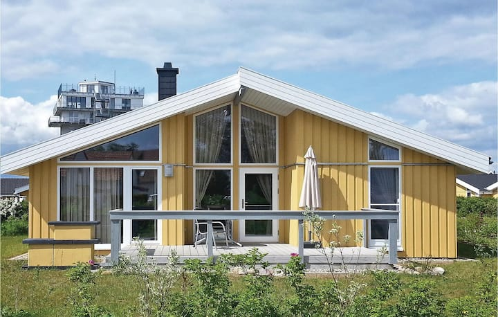 Awesome home in Rechlin with Sauna and 2 Bedrooms