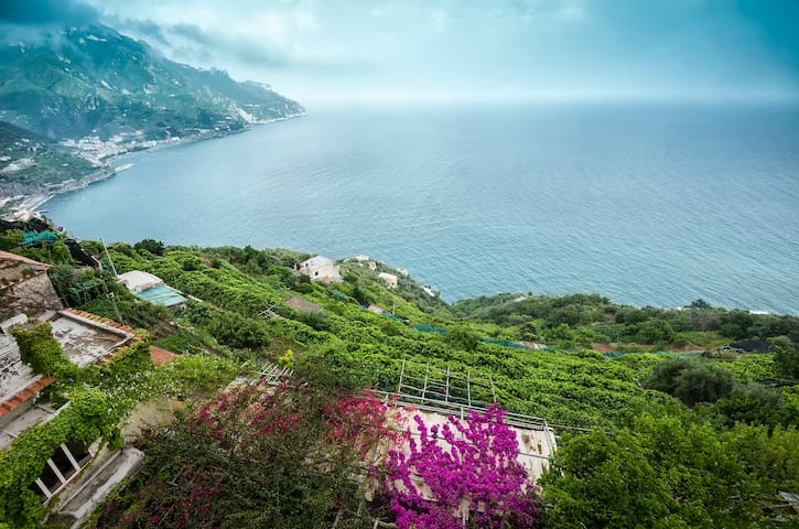 Charming country sea view house   - Ravello - Pis