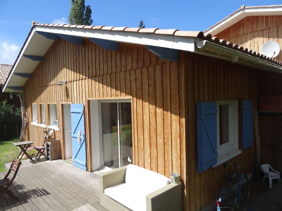 Maison Bois Entre Bassin Et Oc An Maisons Louer L Ge
