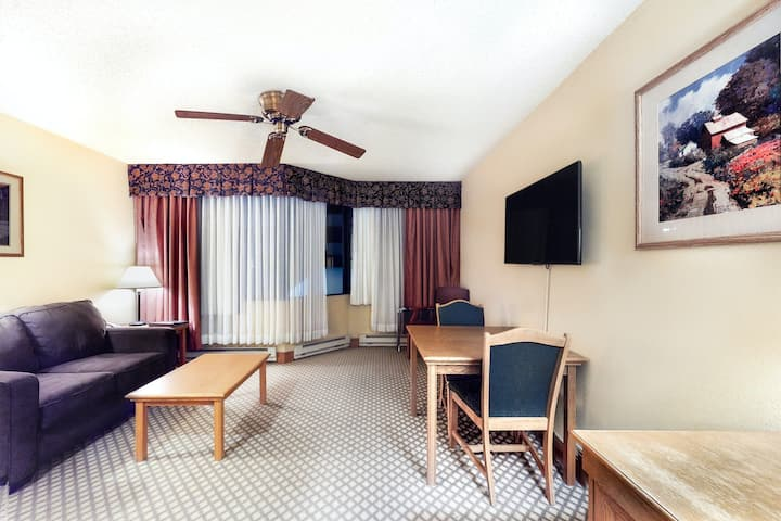 Cozy Dog-Friendly Studio w/ a Shared Pool & Hot Tub - Close to the Ski Slopes