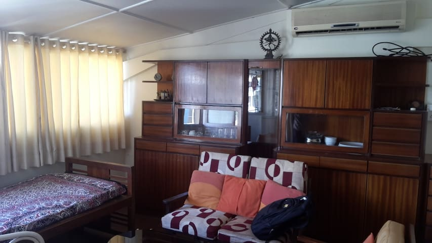 Old Style furnished 1BHK apartment