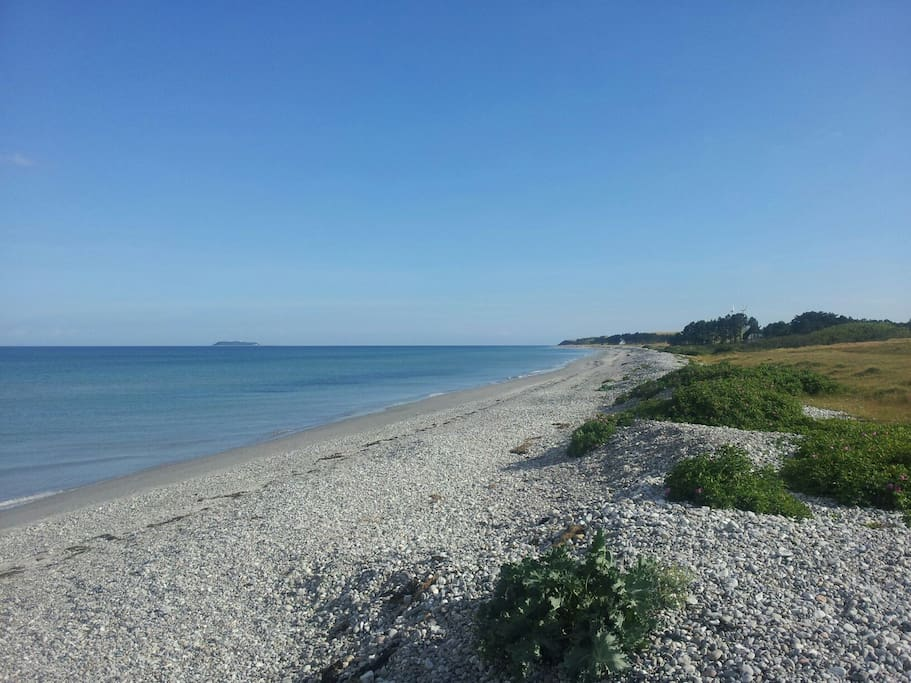 A short walk to the beach (2km)