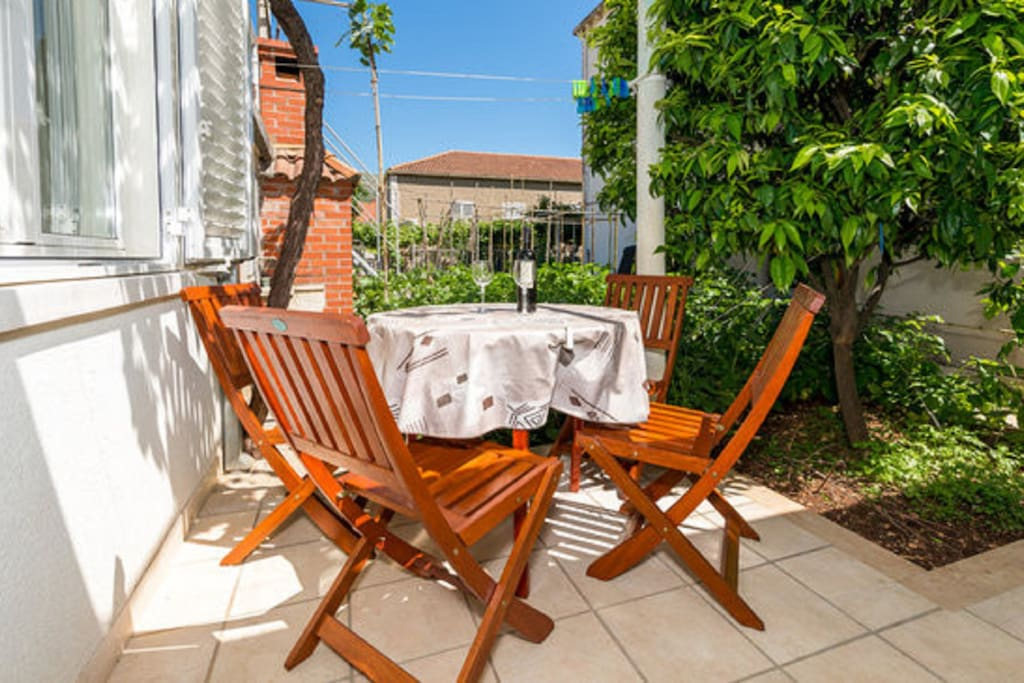 Private terace - Apartement A2