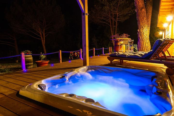 Lodge 5 - SPA Privatif vue sur Massif du Sancy