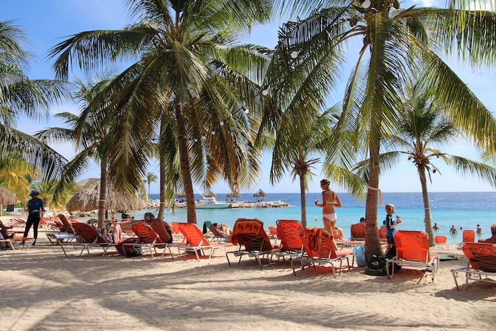 Blue Bay Villa at 50m of Curacao's palm beach - St. Michiel - Villa