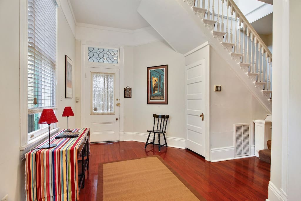 Foyer - a roomy entry hall upon entering the home